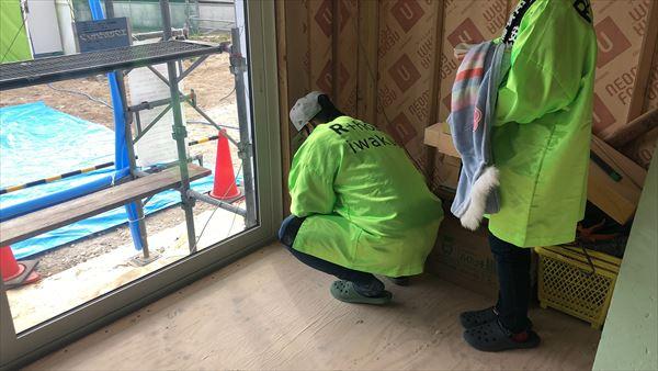 山口県岩国市で新築一戸建ての四方祓いをおこないました。