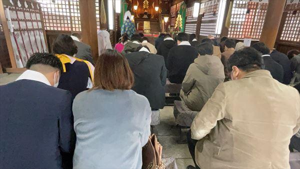 山口県周南市で地鎮祭をおこないました。